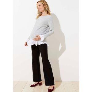LOFT Marisa Maternity Trouser in GRAY